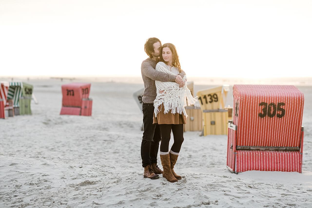 Rebecca Conte Fotografie: Paarbilder auf Langeoog 26