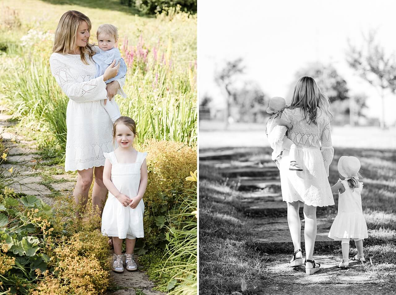 Rebecca Conte Fotografie: Sommerliche Familienbilder im Abendlicht 19