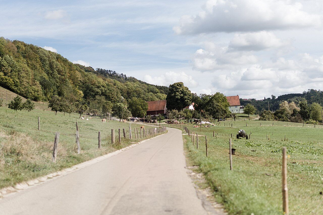 Rebecca Conte Fotografie: Herbsthochzeit Burg Staufeneck 34