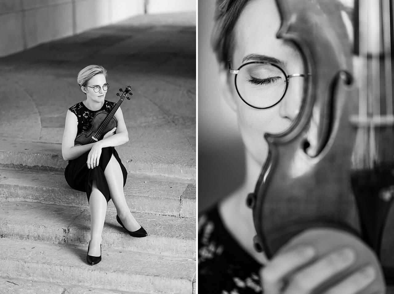 Rebecca Conte Fotografie: Musikerportraits mit Violine 02