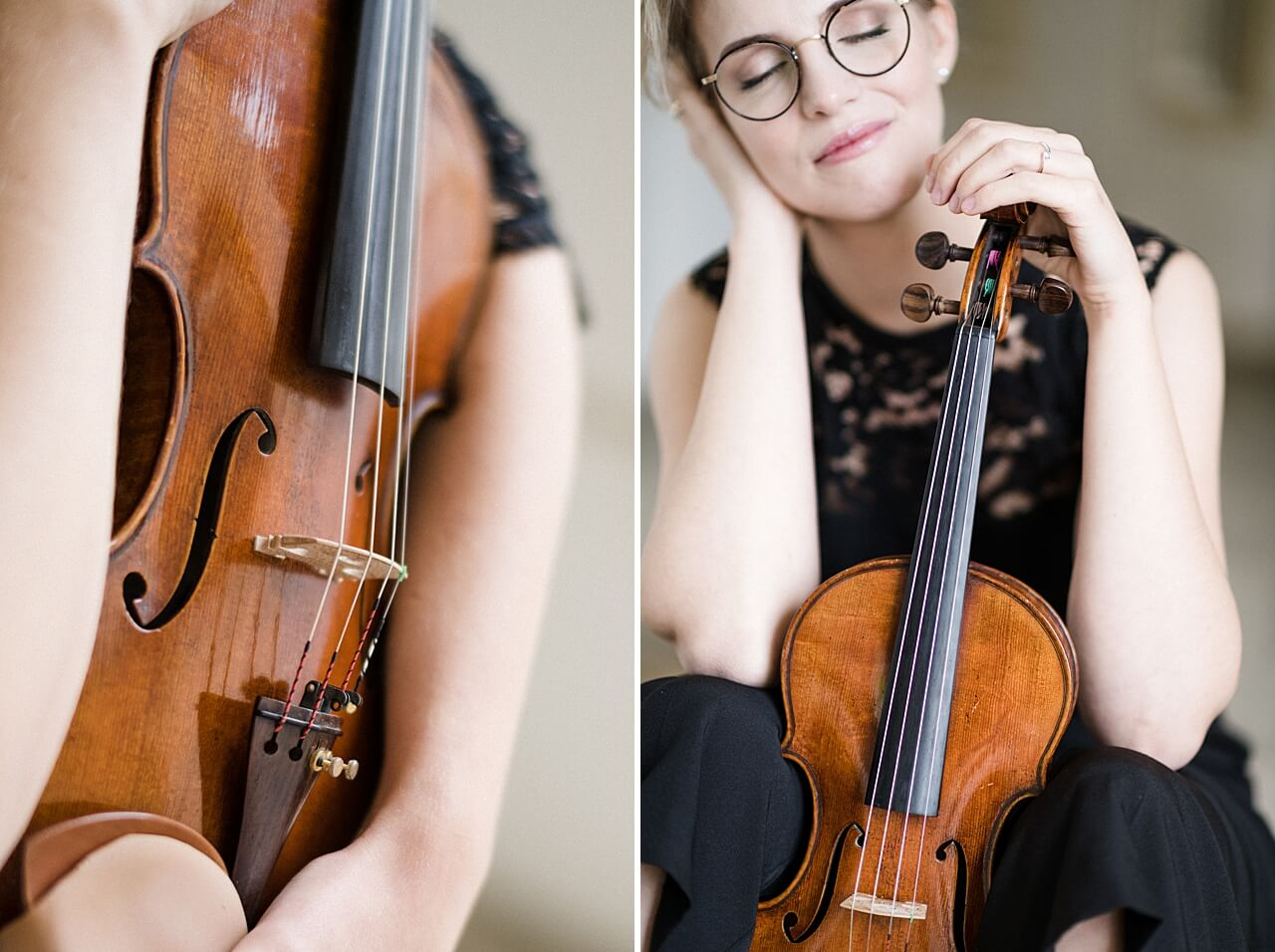 Rebecca Conte Fotografie: Musikerportraits mit Violine 05