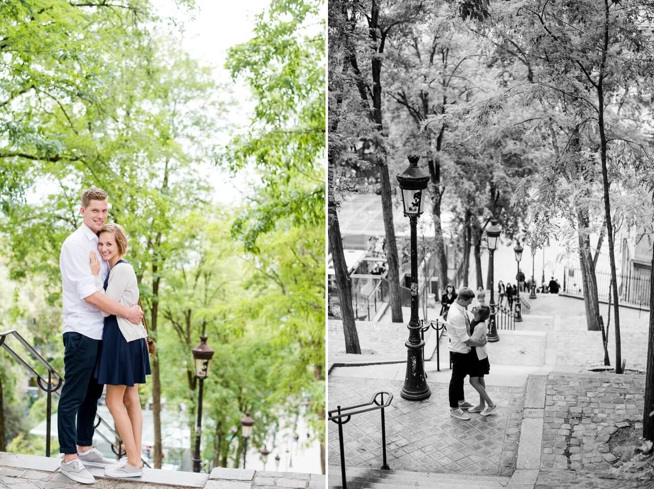 Rebecca Conte Fotografie: Paris Engagement-Shooting 33