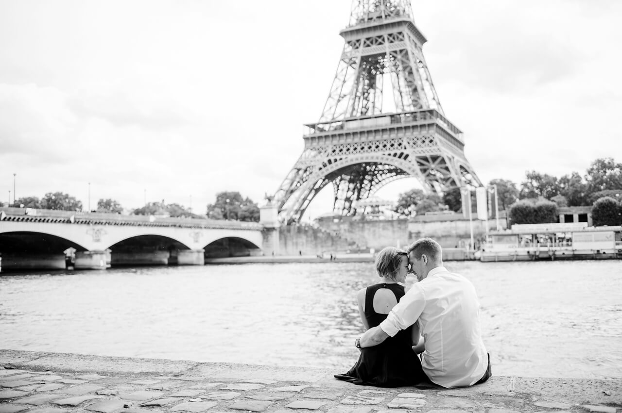 Rebecca Conte Fotografie Ludwigsburg: Paris Engagement-Shooting Titelbild