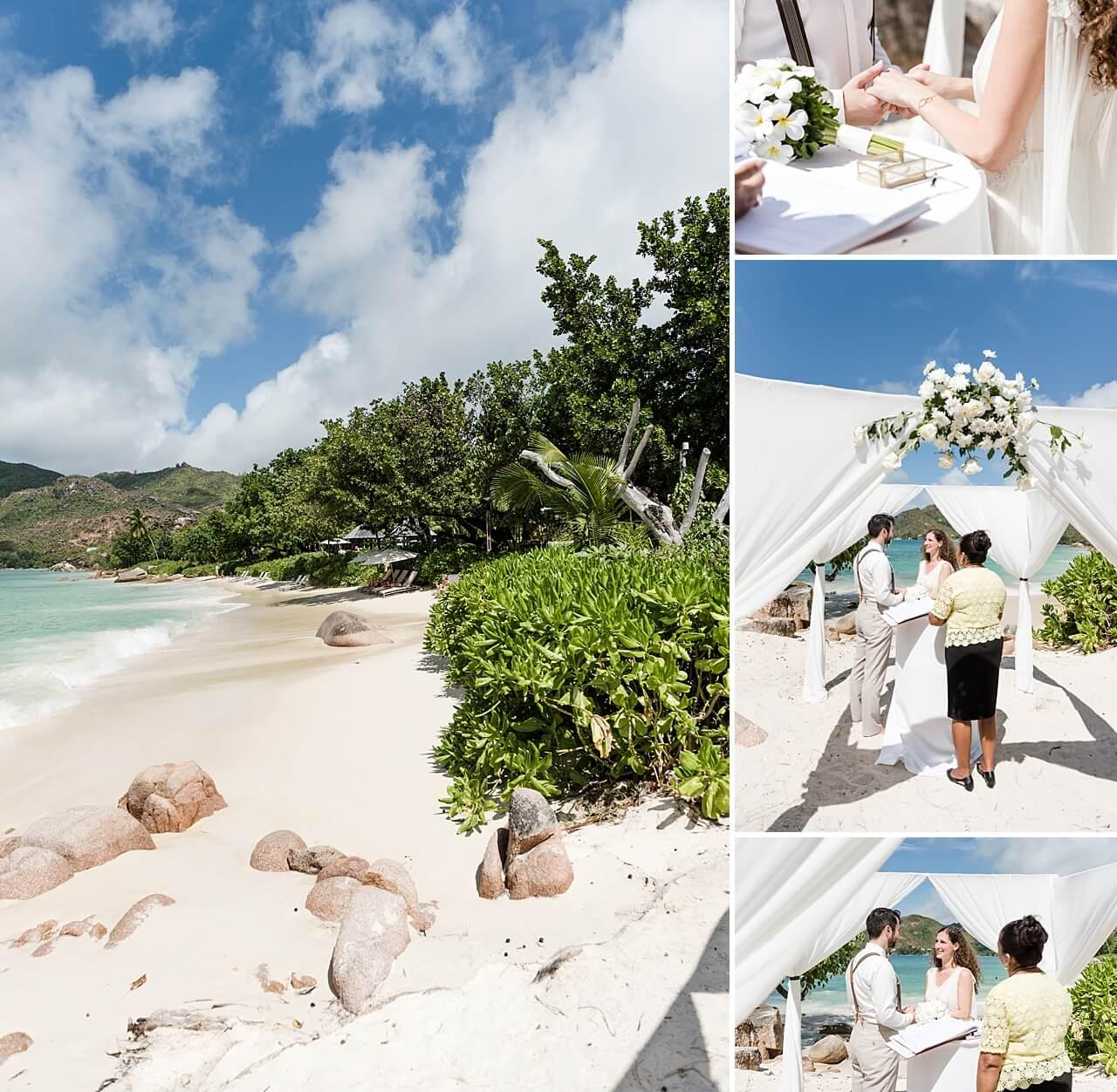 Rebecca Conte Fotografie: Intime Strandhochzeit Seychellen 12