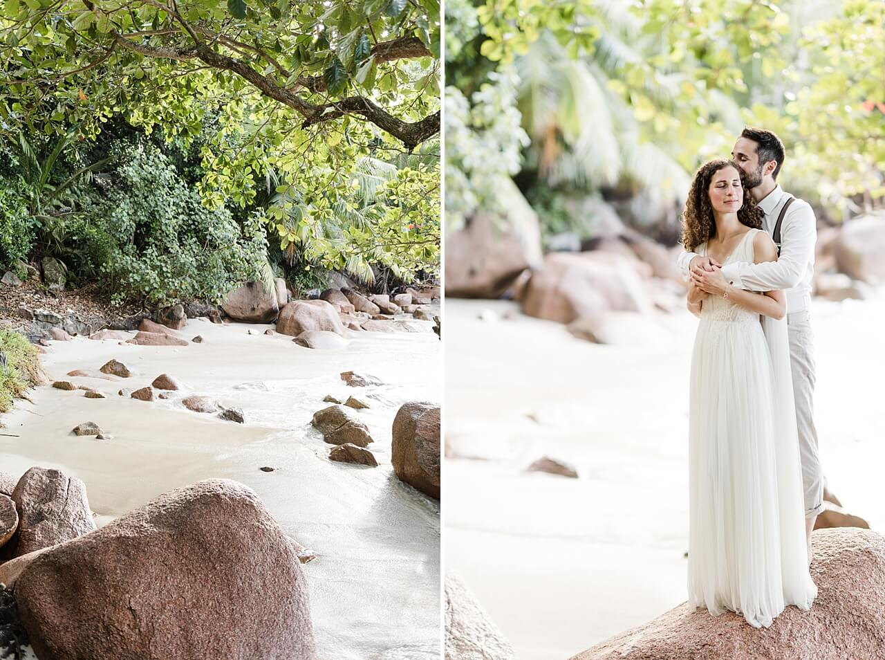 Rebecca Conte Fotografie: Intime Strandhochzeit Seychellen 27