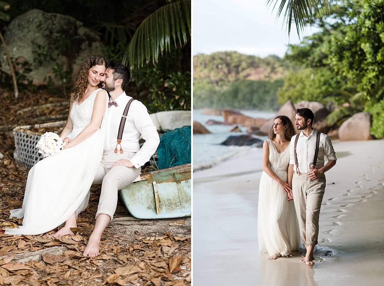 Rebecca Conte Fotografie: Intime Strandhochzeit Seychellen 30
