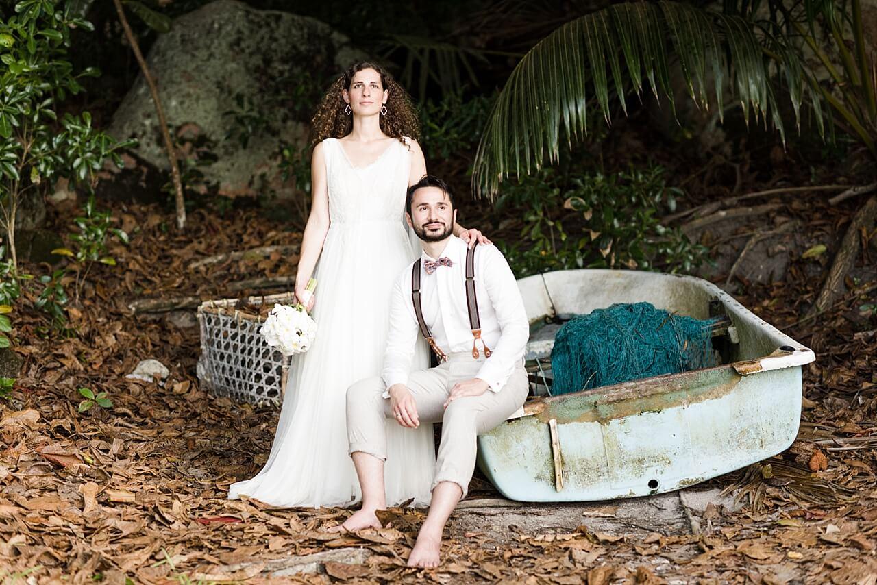 Rebecca Conte Fotografie: Intime Strandhochzeit Seychellen 31