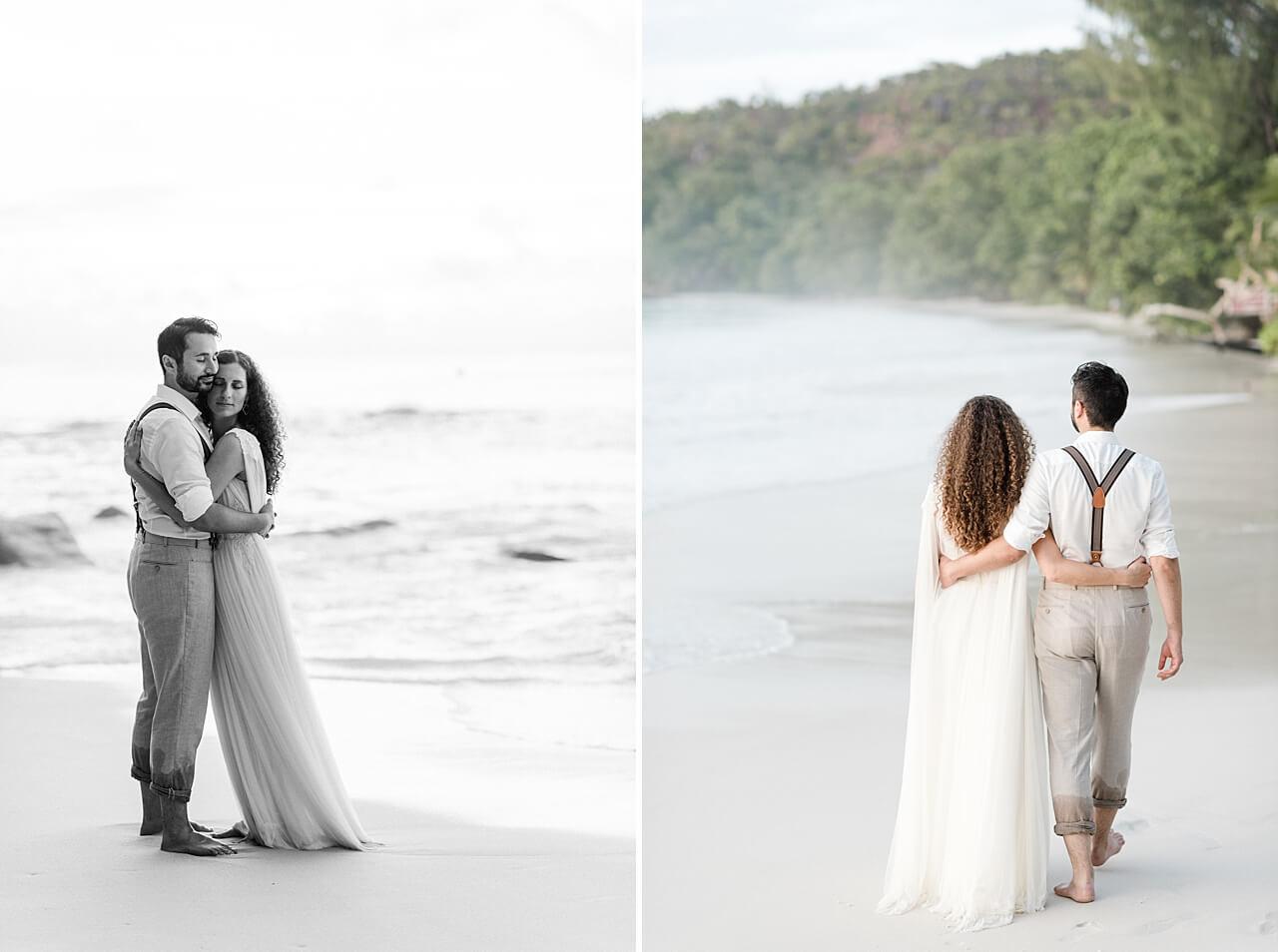 Rebecca Conte Fotografie: Intime Strandhochzeit Seychellen 39