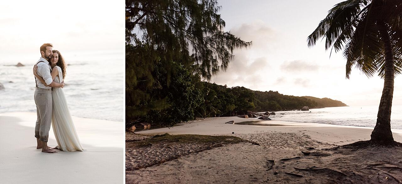 Rebecca Conte Fotografie: Intime Strandhochzeit Seychellen 46