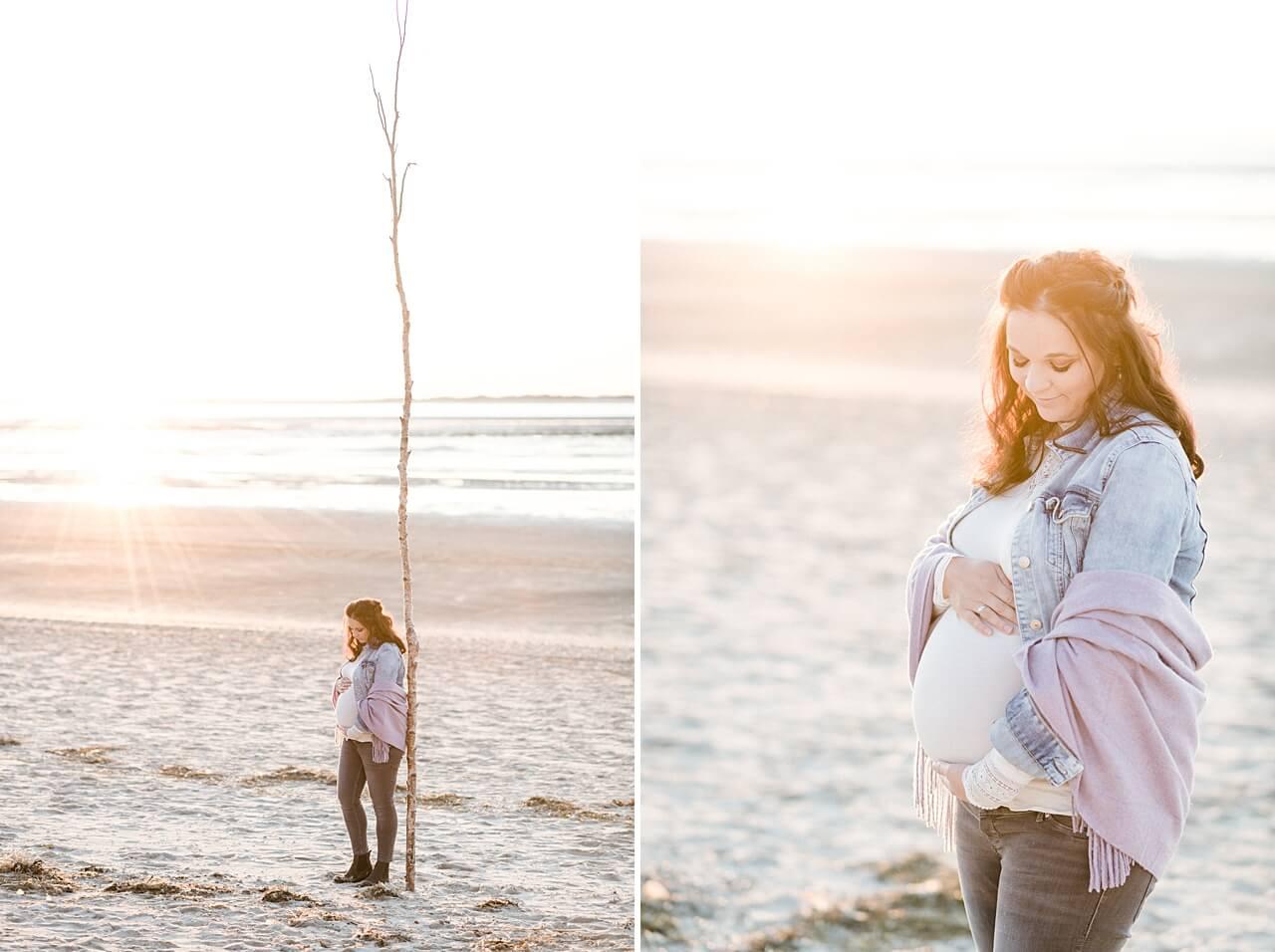 Rebecca Conte Fotografie: Babybauchbilder auf Langeoog 15