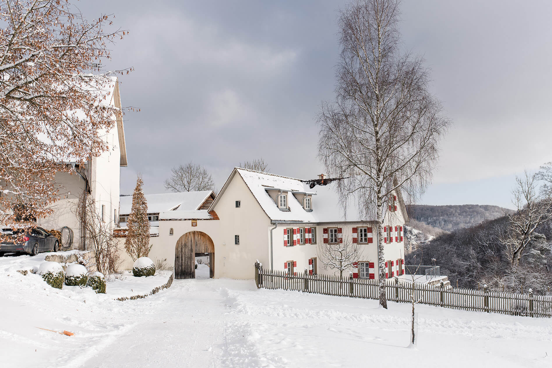 Rebecca Conte Fotografie Stuttgart: Burg im Winter