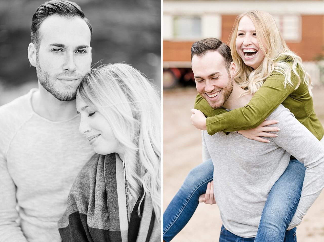 Rebecca Conte Fotografie: Verlobungsbilder bei Herbstwetter 09