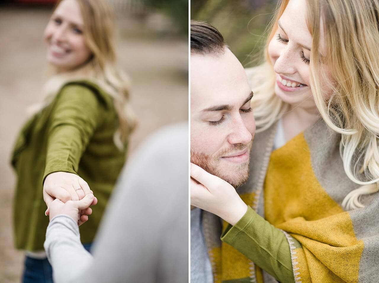 Rebecca Conte Fotografie: Verlobungsbilder bei Herbstwetter 14