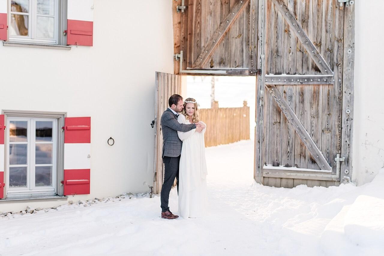 Rebecca Conte Fotografie: Traumhafte Winterhochzeit Maisenburg 26