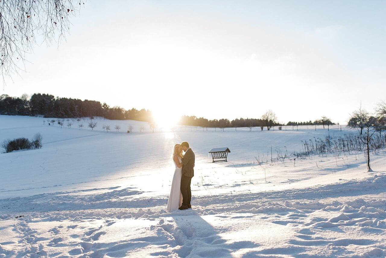Rebecca Conte Fotografie Stuttgart: Traumhafte Winterhochzeit Maisenburg Titelbild